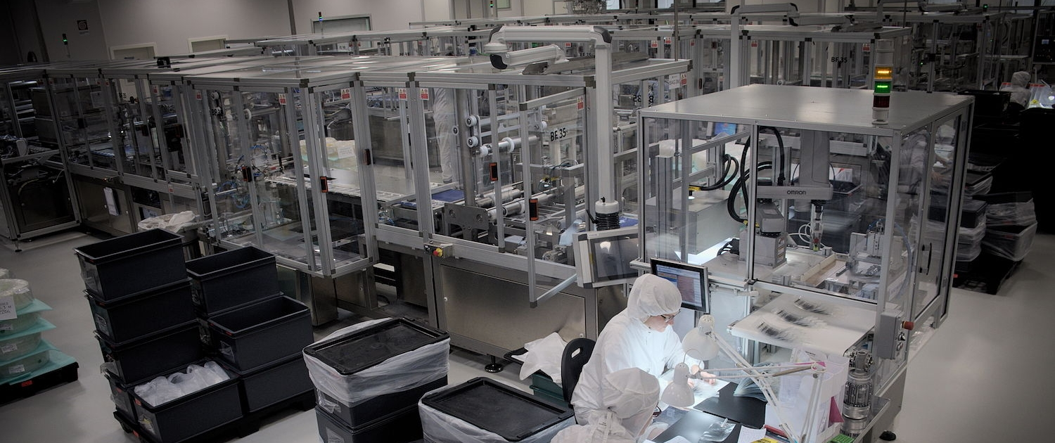 Medical Components Production - Haemotronic